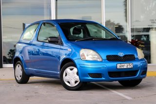 2004 Toyota Echo NCP10R MY03 Blue 5 Speed Manual Hatchback.