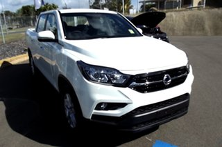 2021 Ssangyong Musso Q200 MY20.5 ELX Crew Cab White 6 Speed Sports Automatic Utility.