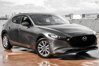 2021 Mazda 3 BP2H7A G20 SKYACTIV-Drive Pure Grey 6 Speed Sports Automatic Hatchback.