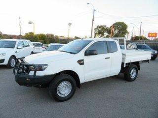 2017 Ford Ranger PX MkII MY17 Update XL 2.2 Hi-Rider (4x2) White 6 Speed Automatic Super Cab Chassis