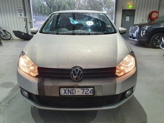 2009 Volkswagen Golf VI 118TSI Comfortline Silver 6 Speed Manual Hatchback.