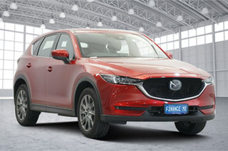 2020 Mazda CX-5 KF4WLA Akera SKYACTIV-Drive i-ACTIV AWD Burgundy 6 Speed Sports Automatic Wagon.