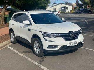 2017 Renault Koleos HZG Life X-tronic White 1 Speed Constant Variable Wagon.