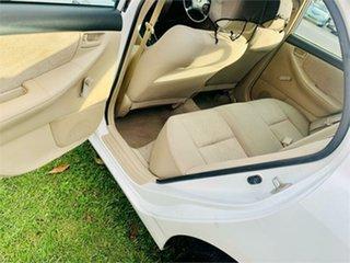 2003 Toyota Corolla ZZE122R Ascent White 4 Speed Automatic Sedan