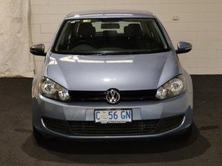 2011 Volkswagen Golf VI MY12 77TSI DSG Blue 7 Speed Sports Automatic Dual Clutch Hatchback