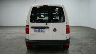 2017 Volkswagen Caddy 2KN MY17.5 TSI220 Maxi DSG Candy White 7 Speed Sports Automatic Dual Clutch