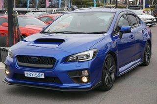 2015 Subaru WRX V1 MY15 AWD Blue 6 Speed Manual Sedan