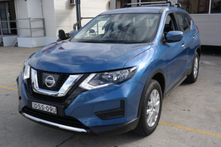 2017 Nissan X-Trail T32 Series II ST X-tronic 2WD Blue 7 Speed Constant Variable Wagon.