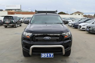 2017 Ford Ranger PX MkII 2018.00MY XL Hi-Rider Black 6 Speed Sports Automatic Cab Chassis