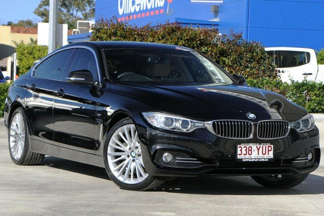 Used BMW 4 Series F36 428i Gran Coupe Luxury Line Aspley, 2014 BMW 4 Series F36 428i Gran Coupe Luxury Line Black 8 Speed Sports Automatic Hatchback