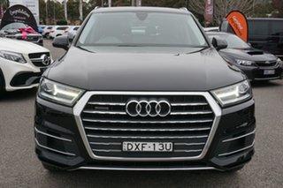 2017 Audi Q7 4M MY17 TDI Tiptronic Quattro Black 8 Speed Sports Automatic Wagon.