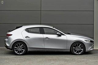 2021 Mazda 3 BP2H7A G20 SKYACTIV-Drive Evolve Silver 6 Speed Sports Automatic Hatchback
