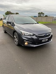 2018 Subaru Impreza G5 MY18 2.0i Premium CVT AWD Grey 7 Speed Constant Variable Hatchback.