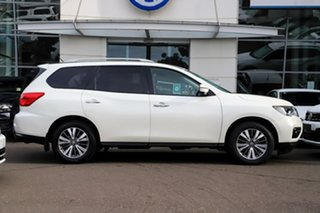 2017 Nissan Pathfinder R52 Series II MY17 ST-L X-tronic 4WD White 1 Speed Constant Variable Wagon.