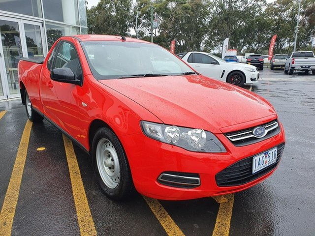 Used Ford Falcon FG MkII EcoLPi Ute Super Cab Epsom, 2013 Ford Falcon FG MkII EcoLPi Ute Super Cab Red 6 Speed Sports Automatic Utility