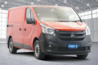 2020 Mitsubishi Express SN MY21 GLX SWB Red 6 Speed Manual Van.