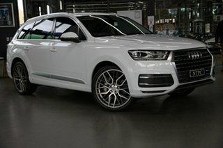 2019 Audi Q7 4M MY19 45 TDI Tiptronic Quattro White 8 Speed Sports Automatic Wagon.