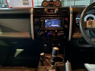2012 Toyota FJ Cruiser GSJ15R Black 5 Speed Automatic Wagon