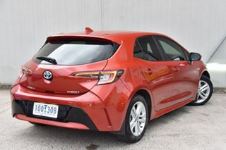2018 Toyota Corolla ZWE211R Ascent Sport E-CVT Hybrid Red 10 Speed Constant Variable Hatchback.