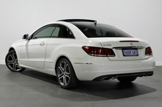 2014 Mercedes-Benz E-Class C207 MY14 E200 7G-Tronic + White 7 Speed Sports Automatic Coupe