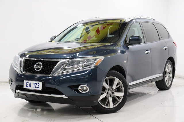 Used Nissan Pathfinder R52 MY14 Ti X-tronic 4WD Brooklyn, 2014 Nissan Pathfinder R52 MY14 Ti X-tronic 4WD Blue 1 Speed Constant Variable Wagon