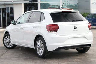 2021 Volkswagen Polo AW MY21 85TSI DSG Style Pure White 7 Speed Sports Automatic Dual Clutch.