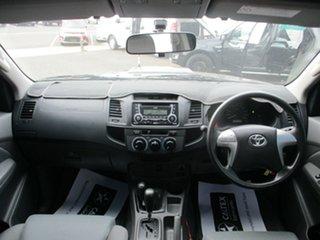 2013 Toyota Hilux KUN26R MY12 SR (4x4) Black 4 Speed Automatic Dual Cab Pick-up