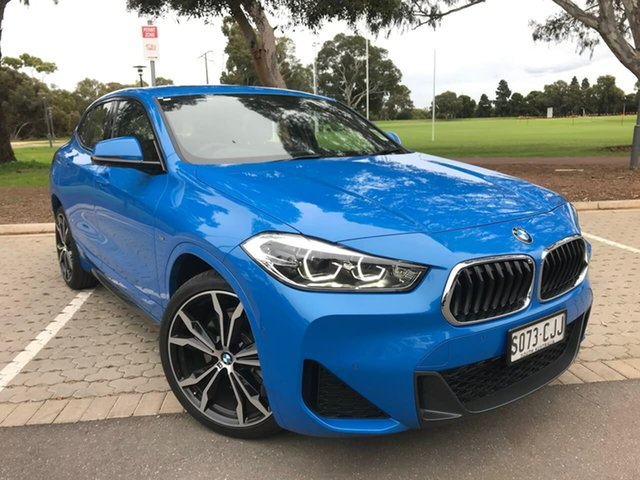 Used BMW X2 F39 sDrive20i Coupe DCT Steptronic M Sport Adelaide, 2020 BMW X2 F39 sDrive20i Coupe DCT Steptronic M Sport Blue 7 Speed Sports Automatic Dual Clutch