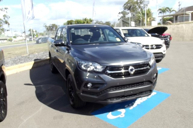 New Ssangyong Musso Q201 MY20.5 Ultimate Crew Cab XLV South Gladstone, 2021 Ssangyong Musso Q201 MY20.5 Ultimate Crew Cab XLV Grey 6 Speed Sports Automatic Utility