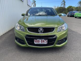 2013 Holden Ute VF MY14 SV6 Ute Green 6 Speed Sports Automatic Utility
