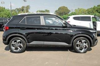 2021 Hyundai Venue QX.V3 MY21 Elite Phantom Black 6 Speed Automatic Wagon.