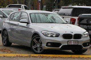 2016 BMW 1 Series F20 LCI 120i Steptronic Urban Line Silver 8 Speed Sports Automatic Hatchback.