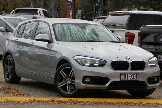 Used BMW 1 Series F20 LCI 120i Steptronic Urban Line Toowoomba, 2016 BMW 1 Series F20 LCI 120i Steptronic Urban Line Silver 8 Speed Sports Automatic Hatchback