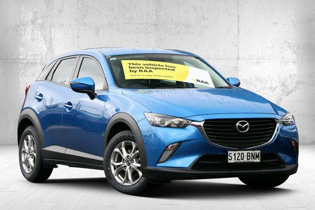 Used Mazda CX-3 DK2W7A Maxx SKYACTIV-Drive Valley View, 2016 Mazda CX-3 DK2W7A Maxx SKYACTIV-Drive Dynamic Blue 6 Speed Sports Automatic Wagon