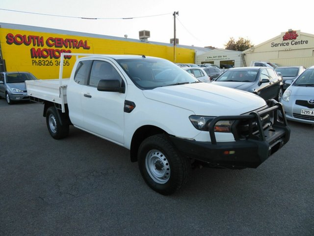 Used Ford Ranger PX MkII MY17 Update XL 2.2 Hi-Rider (4x2) Morphett Vale, 2017 Ford Ranger PX MkII MY17 Update XL 2.2 Hi-Rider (4x2) White 6 Speed Automatic Super Cab Chassis
