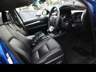 2016 Toyota Hilux GUN126R SR5 (4x4) Blue 6 Speed Automatic Dual Cab Utility
