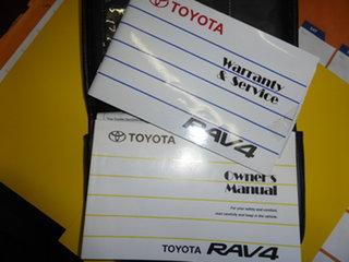 2009 Toyota RAV4 ACA33R CV (4x4) Silver 5 Speed Manual Wagon.