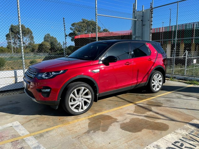 Used Land Rover Discovery Sport L550 17MY HSE Edgewater, 2017 Land Rover Discovery Sport L550 17MY HSE Red 9 Speed Sports Automatic Wagon