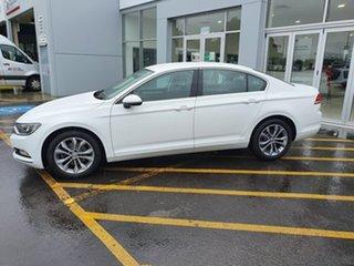2018 Volkswagen Passat 3C (B8) MY18 132TSI DSG White 7 Speed Sports Automatic Dual Clutch Sedan
