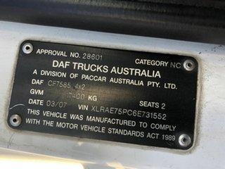 2007 DAF CF75.310 White Pantech