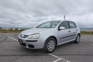 2006 Volkswagen Golf V Comfortline Tiptronic Silver 6 Speed Sports Automatic Hatchback.