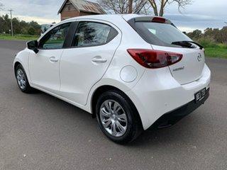 2019 Mazda 2 DJ Series Neo White Sports Automatic Hatchback.