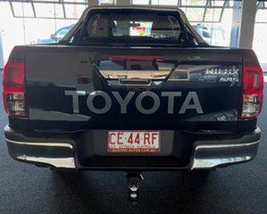 2016 Toyota Hilux GUN126R SR5 Extra Cab Black 6 Speed Manual Utility