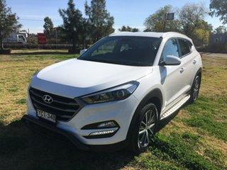 2015 Hyundai Tucson TL Active X White Sports Automatic.