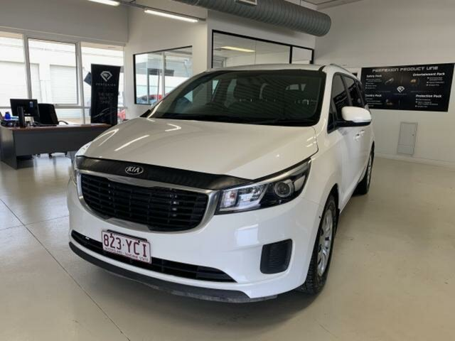 Used Kia Carnival YP MY18 S Emerald, 2018 Kia Carnival YP MY18 S White 6 Speed Automatic Wagon