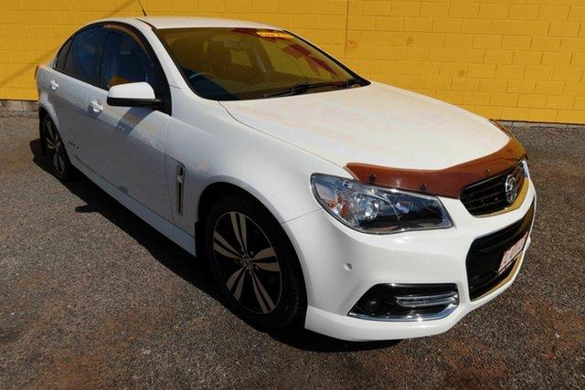 Used Holden Commodore VF MY15 SV6 Storm Winnellie, 2015 Holden Commodore VF MY15 SV6 Storm White 6 Speed Manual Sedan