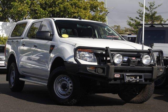 Used Ford Ranger PJ XLT Crew Cab Mount Gravatt, 2008 Ford Ranger PJ XLT Crew Cab White 5 Speed Automatic Utility