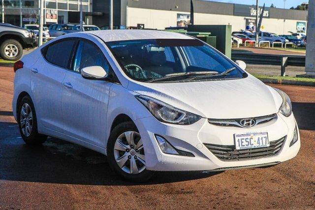 Used Hyundai Elantra MD3 Active Rockingham, 2014 Hyundai Elantra MD3 Active White 6 Speed Sports Automatic Sedan