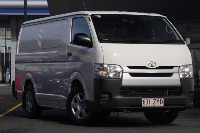 Used Toyota HiAce KDH201R LWB Mount Gravatt, 2016 Toyota HiAce KDH201R LWB White 4 Speed Automatic Van