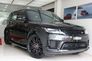 2021 Land Rover Range Rover Sport L494 21.5MY DI6 258kW HSE Dynamic Santorini Black 8 Speed.